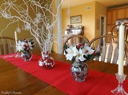fascinating easy centerpiece ideas with white glass bowl engaging diy centerpieces design clear vase include tree and red round