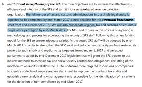 Таможенная реформа Минфина перезагрузка или передел потоков  В пункте Укрепление институционального потенциала ГФС Правительство Украины в частности обещало в 2017 году завершить слияние налоговой и таможенной