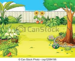 Small Picture Garden Clipart and Stock Illustrations 258837 Garden vector EPS