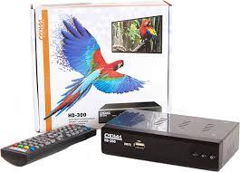 <b>ТВ</b> ресивер <b>Сигнал</b> Electronics <b>HD</b>-<b>300</b>, черный