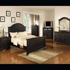 Bedroom Sets ~ Leather Bedroom Set Black Bed Frame Azure Faux ...