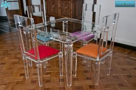 lucite acrylic dining table tavoli pranzo in plexiglas plexiglass desk