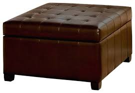 square leather ottoman square leather ottoman coffee table design ideas