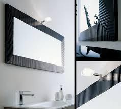 Black Illuminated Bathroom Mirrors