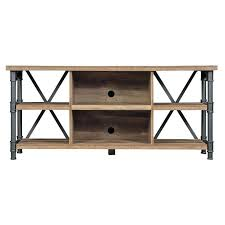 Diy Industrial Tv Stand Rustic Center Storage Media  Console Table Stands94