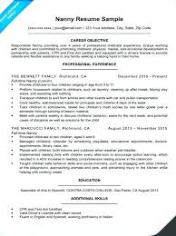 Childcare Cv Template Resume Child Care Examples Provider Sample