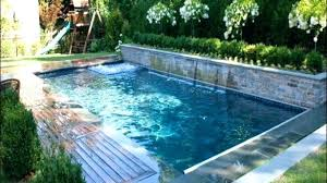 Backyard Designs With Pool And Outdoor Kitchen Gorgeous Swimming Pool Ideas For Backyard Backyard Pool Designs Landscaping