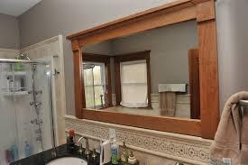 trim around bathroom mirror. Trim Around Bathroom Mirror Custom Wood Framed Mirrors Photos Hgtv. Frame R