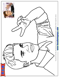 Small Picture coloring pages justin bieber name justin bieber coloring pages to