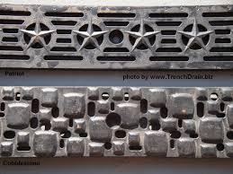 Decorative Metal Grates Decorative Grating Options For Polycast 600 Trenchdrainblogcom