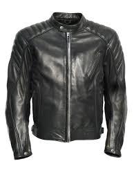 jts ridge mens leather motorcycle jacket