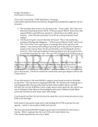 Memo To Board Of Directors Take it or Leave it UPDATE THE FRIENDS OF CEDAR MESA LEAKED MEMO 40