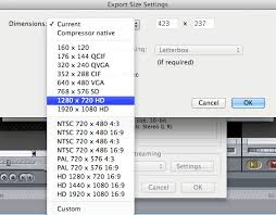 youtube video image size how to convert final cut pro projects for youtube or vimeo