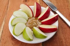 are apples with peanut er healthy