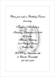 Impactful Formal Invitation For Dinner Party Format Be