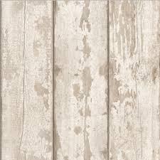 arthouse white washed wood wallpaper