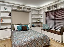 home office and guest room. murphy bed is an easy addon for the home office guestroom design and guest room e