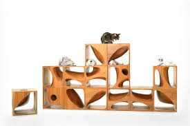 wooden cubes furniture. Simple Furniture Modular Cat Furniture For Wooden Cubes I