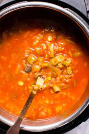 instant pot vegetable soup ifoodreal