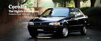 Toyota Global Site | Corolla | The Eighth Generation_01
