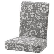 IKEA HENRIKSDAL chair cover Dining room update Pinterest