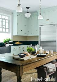 Kitchen Cabinets Green And White Xekoinfo