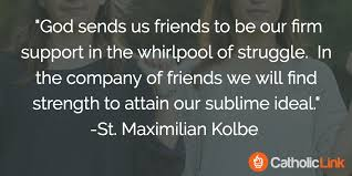 Quote About Friendship Fascinating 48 Quotes On Friendship From The Saints
