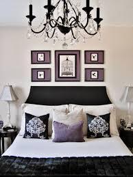 Small Black Chandelier For Bedroom Photos Hgtv Elegant Bedroom With Black Chandelier Cubtab