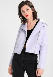 lucy biker faux leather jacket