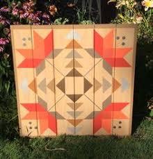 Sunburst  American Garden Barn Quilts | barn quilts | Pinterest ... & Carolina Lily Barn Quilt Adamdwight.com
