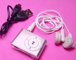 Máy nghe nhạc Mp3 Mini - Máy Mp3 kẹp áo [Mp3mini] Hàng chính hãng - Máy thu  và máy phát âm thanh Thương hiệu iMEGA