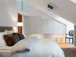 ideas for attic bedrooms. bedroom:inspiration for modern attic design with king sized bed also wall storage units ideas bedrooms s