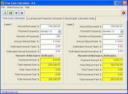 Free Loan Payment Calculator Free Loan Calculator Free Download For Windows 10 7 8 8 1 64 Bit
