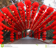 Spring Festival Chinese New Year Spring Festival Temple Fair Editorial Photo