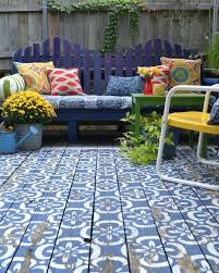 outdoor rug for deck view in gallery wood patio painted in blue and white an area outdoor rug for deck