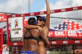 priscilla-piantadosi-lima-and-karolina-marciniak-celebrate    Volleyballmag.com
