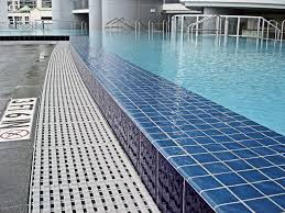 infinity pool edge detail. Great Photos Of Infinity Pool Decoration Design Ideas : Enchanting Picture For Backyard Using Blue Edge Detail