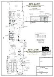 narrow home plans lans narrow lot modern house plans australia