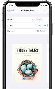 Use Airprint To Print From Your Iphone Ipad Or Ipod Touch