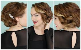 1920s Long Hair Style holiday faux bob no teasing required d youtube 4867 by wearticles.com