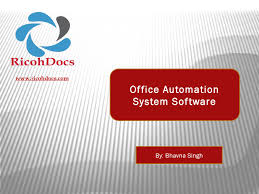 office automated system. Simple Automated Office Automation System  RicohDocs Software Solution By  Bhavna Singh  Issuu With Automated