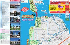 popular  list map of san francisco tourist attractions