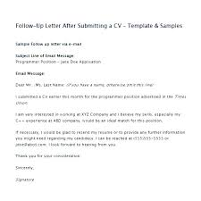 Follow Up Email After Sending Resume Examples Follow Up Letter Resume Skinalluremedspa Com