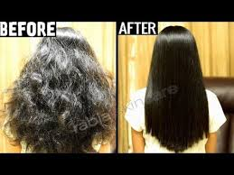 keratin treatment at home for straight