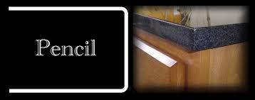 pencil eased edge