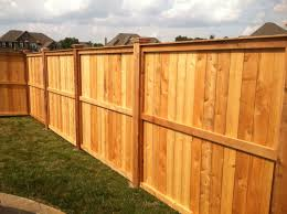 Decorative Wooden Privacy Fence