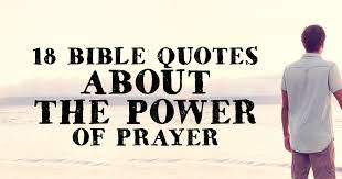 Power Of Prayer Quotes