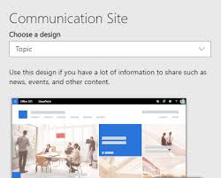 Site Disign Sharepoint Site Design And Site Script Overview Microsoft Docs