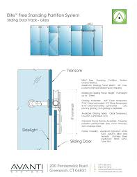 glass partition system specialties free cad drawings blocks and details arcat