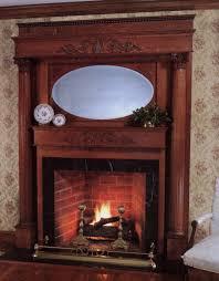 Brick Fireplace Mantel Red Brick Fireplace Mantel Decorating Ideas